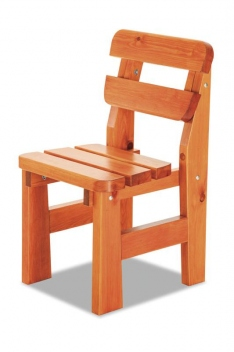 Drevená záhradná stolička Amari