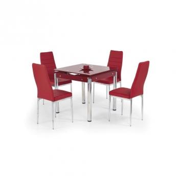 Jedálenský stôl Nestor 4 - červený
