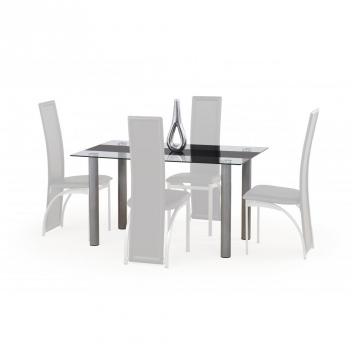 Jedálenský stôl Luis 1 - čierny pás