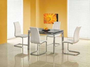Sklenený stôl Torgio 2 - čierny