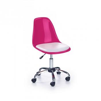 Ružová detská stolička Salie 3