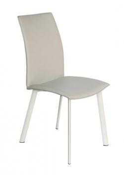 Čalúnená jedálenská stolička Moria - béžová