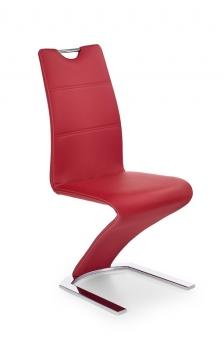 Čalúnená jedálenská stolička Mikaila 5 - červená