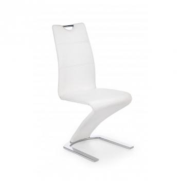 Čalúnená jedálenská stolička Mikaila 1 - biela