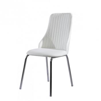 Jedálenská stolička Madai - biela