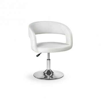 Barová stolička Adael - biela