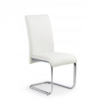 Čalúnená jedálenská stolička Susai 1 - biela