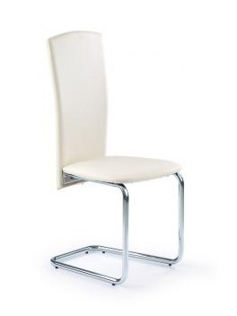Čalúnená jedálenská stolička Janes 2 - krémová