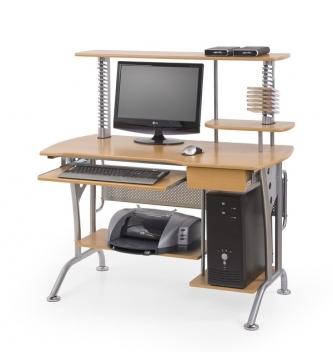Počítačový stôl s výsuvnou doskou Avital