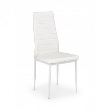 Jedálenská stolička Kiba 2 - biela