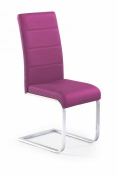 Fialová jedálenská stolička Label 3