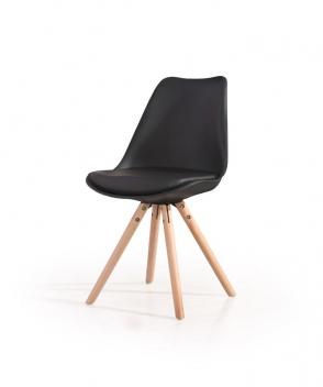 Jedálenská stolička Niria 3 - čierna