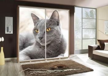 Šatníková skriňa s motívom mačičky Penelopa 36