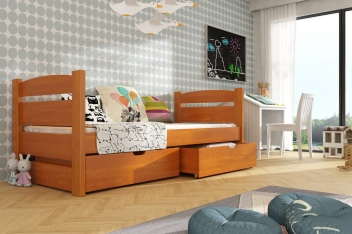 Jednolôžková posteľ Danita - masív