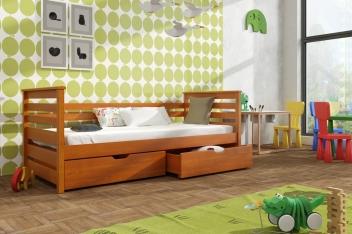 Jednolôžková posteľ Kristl - masív