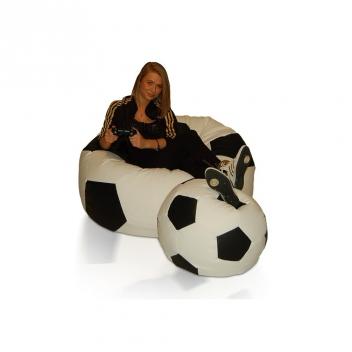 Zostava sedacích lôpt Futbal (XXXL + L)
