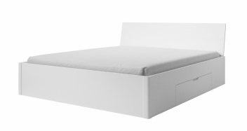 Manželská posteľ Dione 2 - biela