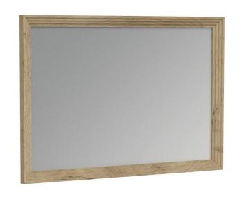 Zrkadlo na stenu Meryl - dub kraft