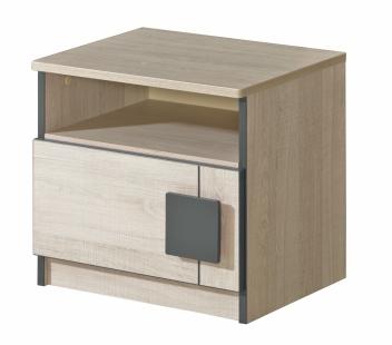 Nočný stolík so zásuvkou pre deti Allarica 12