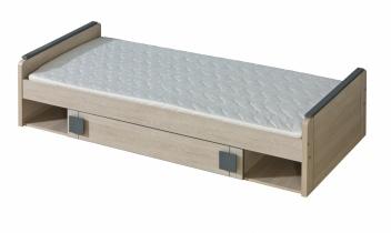 Jednolôžková posteľ pre deti z lamina Allarica 13