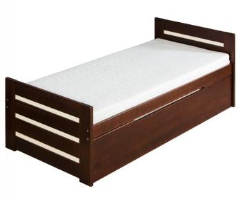Drevená posteľ pre deti s prístelkou Dresill