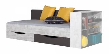 Detská posteľ s úložným priestorom Timi 2