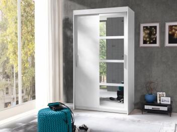 Šatníková skriňa s posuvnými dverami Ceara