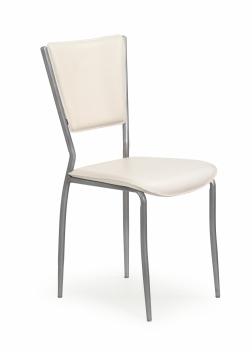 Jedálenská stolička Janita - krémová