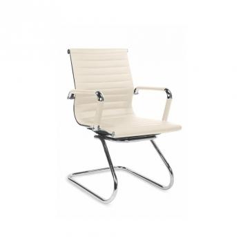 Konferenčná stolička Aldona - krémová