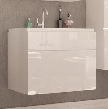 Biela skrinka pod umývadlo Aureliana bbl 2