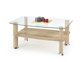 Sklenený konferenčný stolík Talmon 2