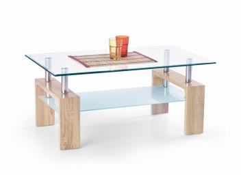 Sklenený konferenčný stolík Adrin 8