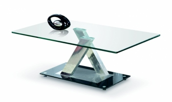 Sklenený konferenčný stolík Paskal