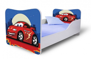 Detská posteľ červené Auto 4