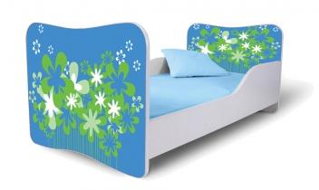 Jednolôžková posteľ do detskej izby Margarétka 3