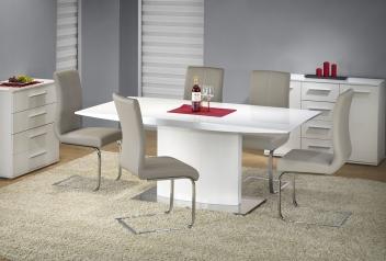 Jedálenský stôl Ezri - biely
