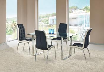 Sklenený jedálenský stôl Milton