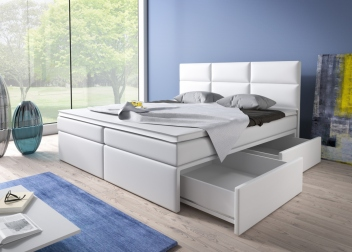 Čalúnená manželská posteľ Isara