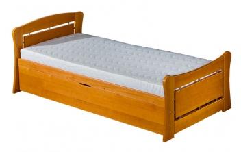 Detská jednolôžková posteľ s prístelkou Clementina 2