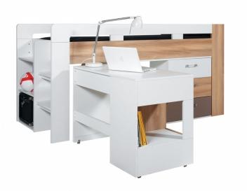 Detská posteľ s písacím stolom Blox 1