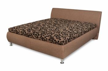 Čalúnená manželská posteľ Magie