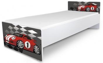 Jednolôžková detská posteľ Racing Car 1