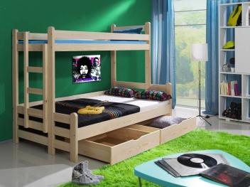Detská poschodová posteľ Jadisa
