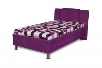 Čalúnená jednolôžková posteľ Monako