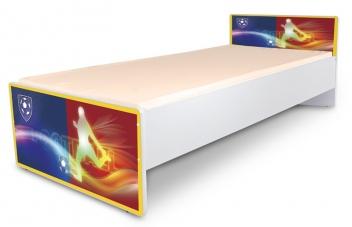 Jednolôžková detská posteľ s motívom Futbal - klub 2