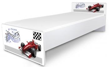 Jednolôžková posteľ pre mládež Formula 2