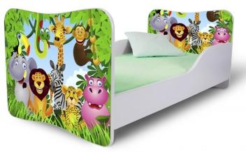 Detská posteľ Madagaskar