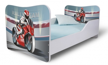 Detská posteľ Motorka