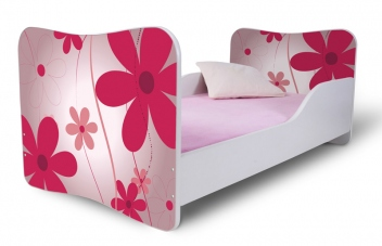 Detská posteľ Kvetiny 1