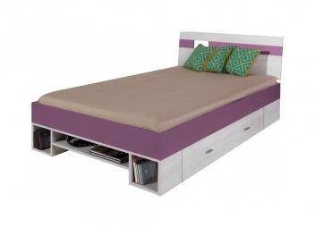 Detská jednolôžková posteľ Delbert 1